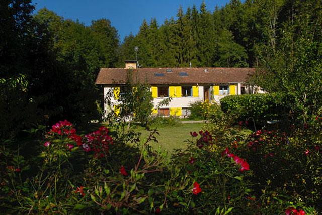Vue du lieu où se trouvent les gîtes en Ariège